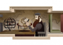 Google : Gérard Mercator & sa projection en doodle