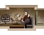 Google : Gérard Mercator & sa projection en doodle