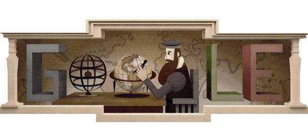 Google : Doodle Gérard Mercator