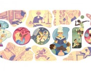 Google : Journée internationale de la femme en doodle