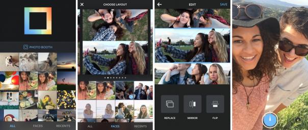 Instagram Layout : Application