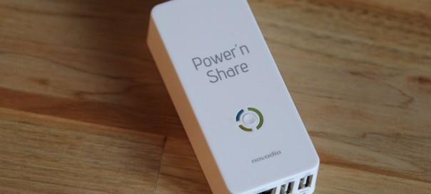 Test du Power'n Share de Novodio
