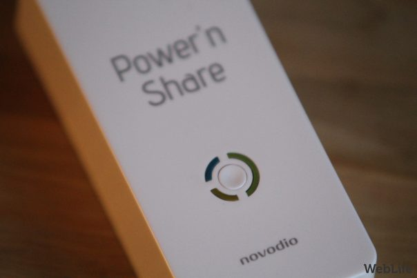 Novodio Power'n Share : Face
