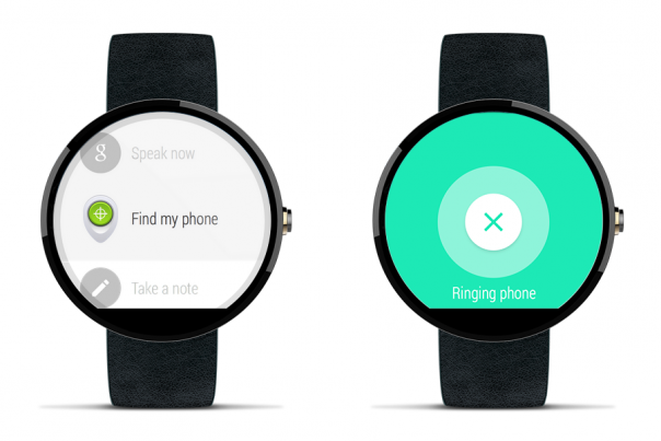 Android Wear : Find my phone