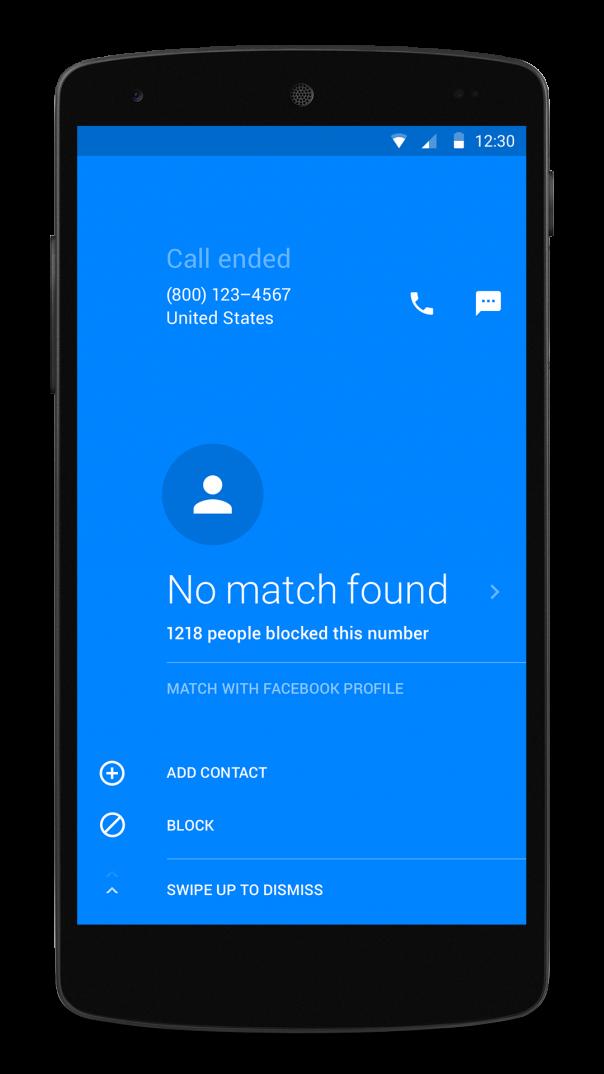 Facebook Hello : Bloquer un appel