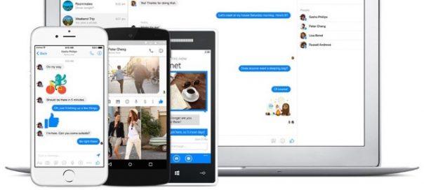 Facebook Messenger : Version de bureau de la messagerie