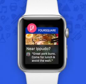 Fousquare : Application pour la Apple Watch dévoilée