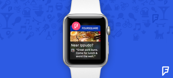 Fousquare : Application pour la Apple Watch dévoilée