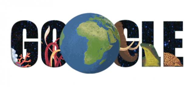 Google : Doodle Journée de la Terre -2015