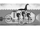 Google : Monstre du Loch Ness en doodle animé