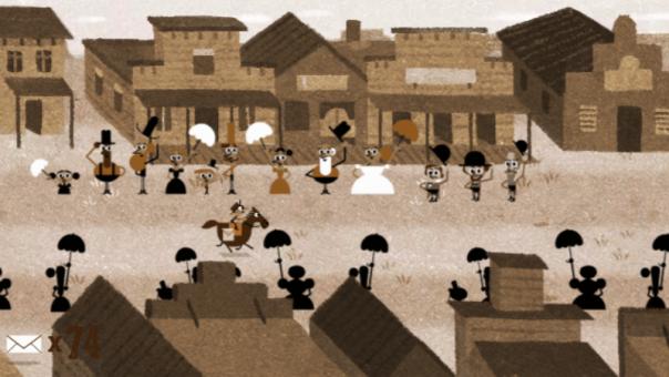 Google : Doodle Pony Express - Ville