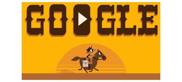 Google : Doodle Pony Express
