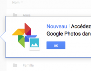 Google Photos : Disponible dans Google Drive