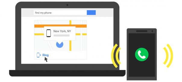 Google : Localiser un smartphone avec une simple recherche