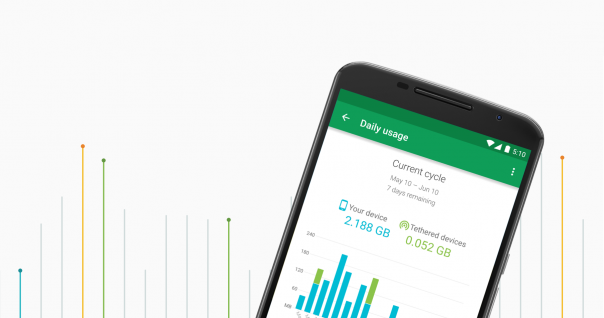 Google Project Fi : Application mobile & forfait