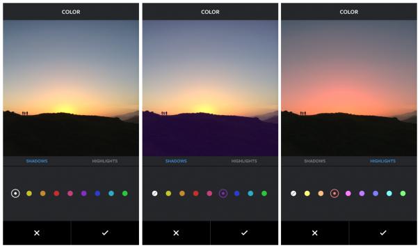 Instagram : Color