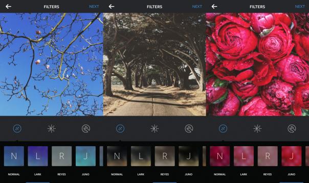 Instagram : Nouveaux filtres
