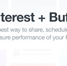 Pinterest : Buffer permet d'y épingler du contenu