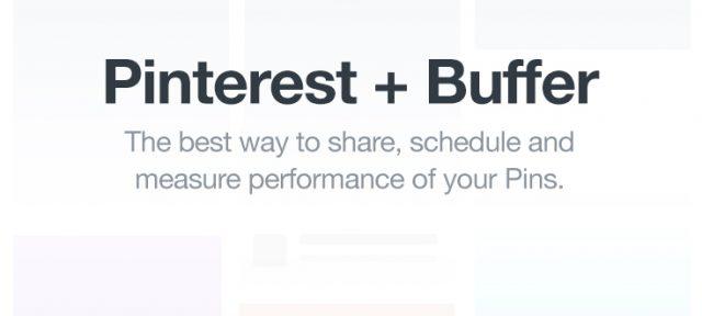 Pinterest & Buffer