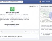 Facebook : Safety Check utilisé au Népal