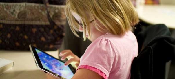 Etude : Utilisation de tablettes chez les très jeunes enfants