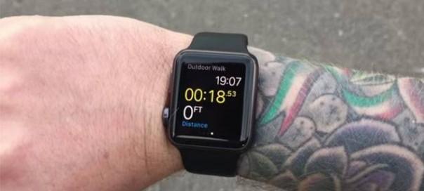 L'Apple Watch serait incompatible avec les tatouages