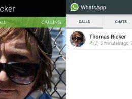 WhatsApp : Appels vocaux