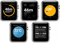 Apple Watch Lufthansa