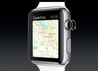 Apple Maps sur Apple Watch
