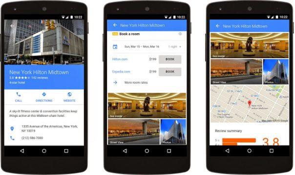 Google AdWords hôtel