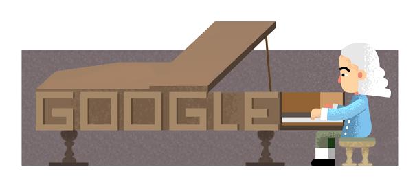 Google : Doodle Bartolomeo Cristofori