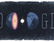 Google : Inge Lehmann et le noyau de la Terre en doodle