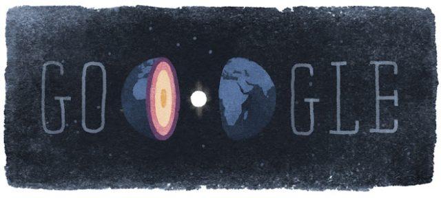 Google : Doodle Inge Lehmann