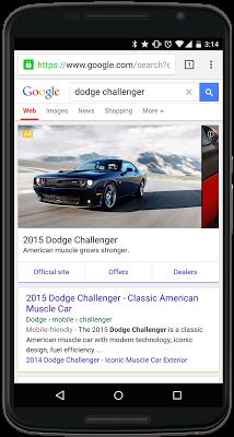 Nouveaux Google AdWords voiture