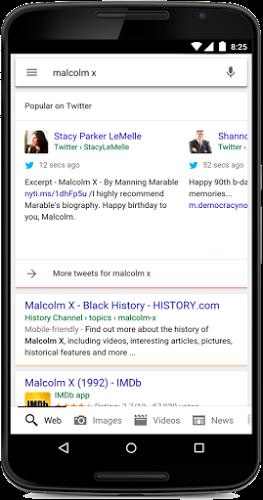 Partenariat Google Twitter