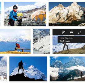 Adobe Stock : Une galerie photos dans le Creative Cloud