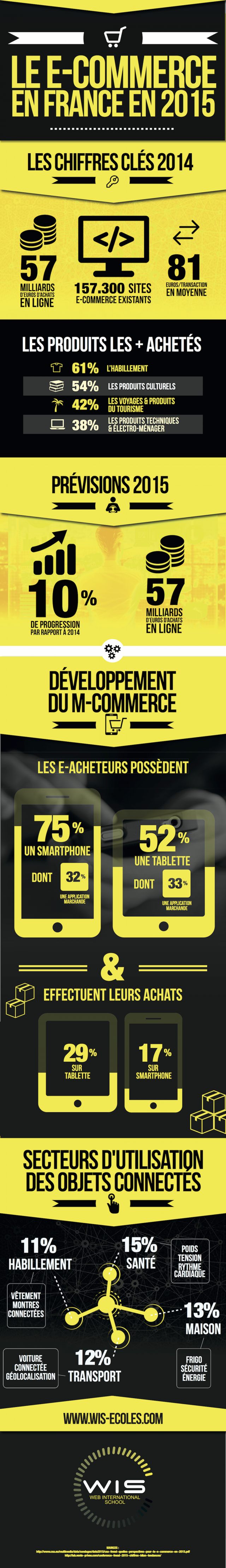 E-commerce 2015 en France