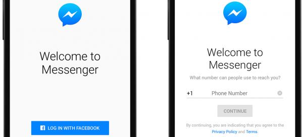 Facebook Messenger : Accès sans compte pour tous
