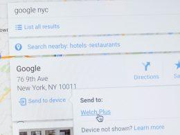 Google Maps : Envoyer vers l'appareil