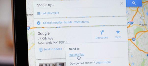 Google Maps : Envoi de lieux sur mobiles Android & iOS
