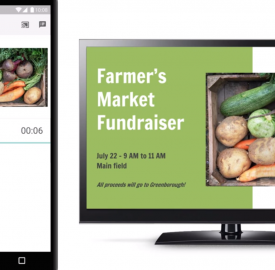 Google Slides : Support du Chromecast & de AirPlay