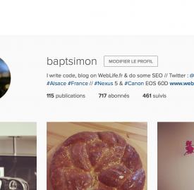 Instagram : Nouvelle version du site officiel