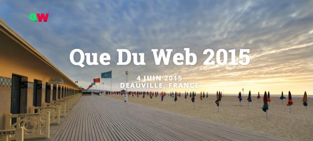 Logo Que Du Web 2015