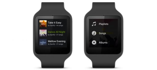 Spotify & Android Wear