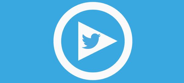 Logo Twitter vidéo
