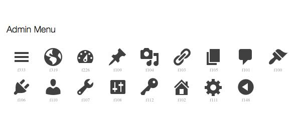 WordPress Dashicons : De la police d'icônes au SVG
