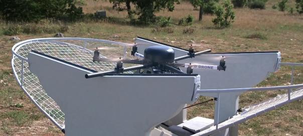 La Poste lance un terminal de livraison pour drone