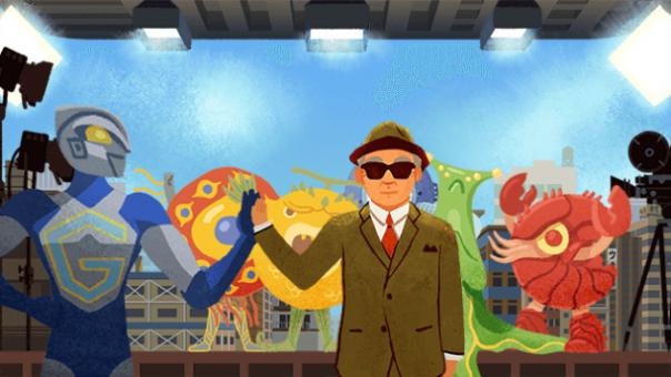 Google : Doodle Eiji Tsuburaya - Fin du film