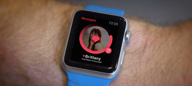 Tinder : Smartwatch & rythme cardiaque
