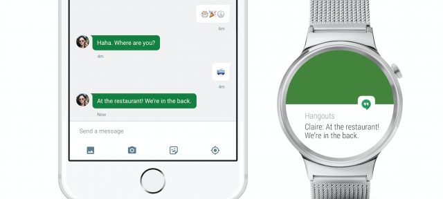 Android Wear pour iOS